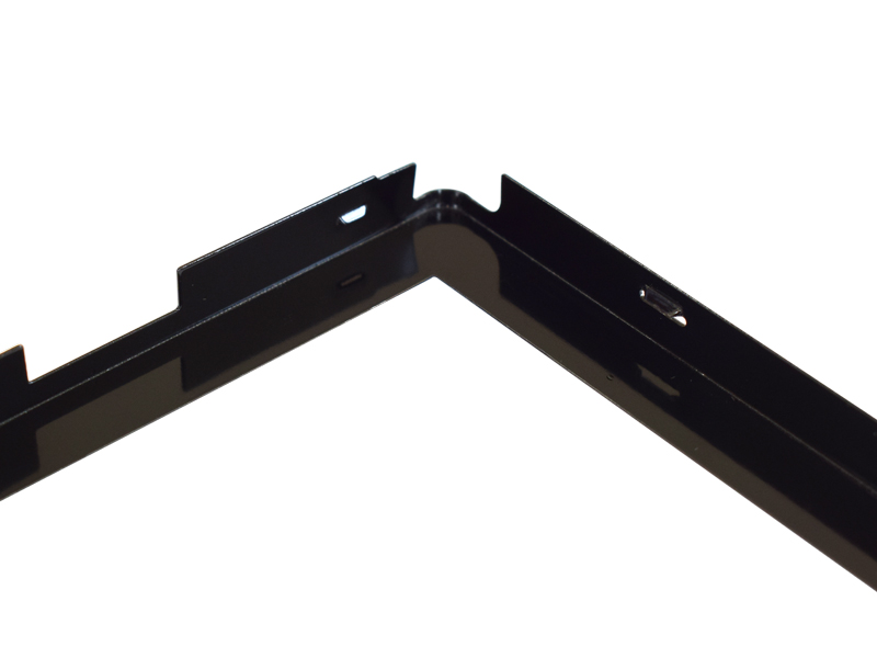 Metal processing customized display front frame appearance parts
